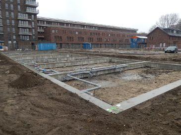 Start bouw kavels 'Het Leukste Punt' in Amsterdam Nieuw-West